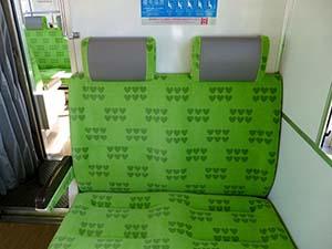 南海真田の赤備え電車