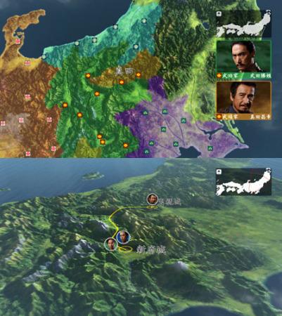 真田丸3D地図